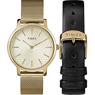 Timex Women s Metropolitan 34mm Watch thumbnail