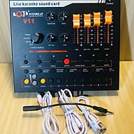 Sound Card Thu Âm AQTA V11 Đa Năng Hát Karaoke Và Livestream thumbnail