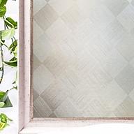 Decal dán kính mờ ô vuông kẻ sọc - decal dán kính phòng khách - phòng ngủ - nhà hàng - khách sạn DK58 - 120x500cm thumbnail