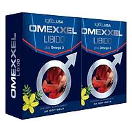 Combo 2 Hộp Thực Phẩm Chức Năng Tăng Cường Sinh Lý Và Sức Khỏe Nam Toàn Diện Omexxel Libido (30 Viên Hộp) thumbnail