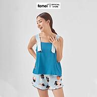 FEMEI - Độ bộ mặc nhà 2 dây bản 5cm 5CM015 thumbnail