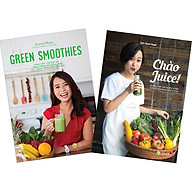 Combo 2 Cuốn Chào Juice + Green Smoothies - Gia m Cân, La m Đe p Da, Tăng Cươ ng Sư c Đê Kha ng Vơ I 7 Nga y Uô ng Sinh Tô Xanh thumbnail