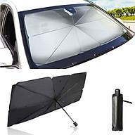 Ô che nắng, chắn tia UV kính lái ô tô đa năng - Chất liệu (vải dù) keo bạc titan - Kích thước 80x145cm thumbnail