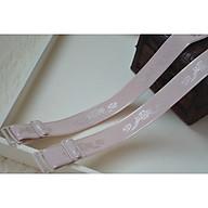 Dây Áo Ngực Vải Dệt Hoa 1.8cm Có Thể Điều Chỉnh Dây Áo Ngực Co Giãn Thêu Hoa 1.8cm thumbnail