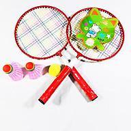 Combo 2 chiếc vợt cầu lông tặng kèm 2 quả cầu cho bé thumbnail
