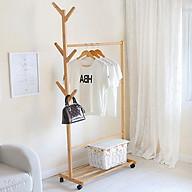 Giá treo,móc quần áo 1 tầng - Giá treo đồ thumbnail