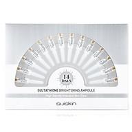 Set 14 ống Tinh chất dưỡng trắng da mờ thâm nám Suiskin Glutathione Brightening Ampoule 1.5ml x14 thumbnail