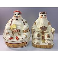 Cặp tượng thần Tài thổ địa ( gốm sứ bát tràng cao cấp) dành cho Ban thần Tài thumbnail