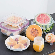 Bộ 6 nắp đậy thực phẩm tủ lạnh - B6NC thumbnail