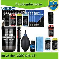 Bộ dụng cụ làm sạch ống kính máy ảnh VSGO Travel Edition DKL-15, nhiều màu thumbnail
