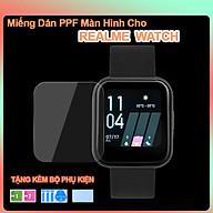 Miếng Dán PPF Màn Hình Dành Cho Realme Watch- Hàng Chính Hãng thumbnail