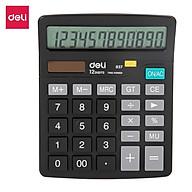 Máy tính để bàn 12 số Deli - 1 chiếc - E837 thumbnail