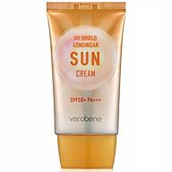 Combo kem chống nắng kiềm dầu, trắng da hàn quốc Verobene Sun Cream SPF 50PA+++ Và 1 mặt nạ dont worry beauskin thumbnail