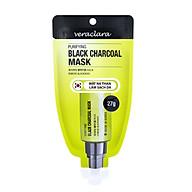 Mặt Nạ Than Hấp Thụ Chất Thải, Loại Bỏ Mụn Và Làm Sạch Da ( Veraclara Purifying Black Charcoal Mask) 27g thumbnail