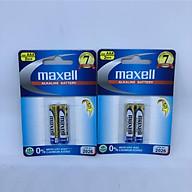 Combo 2 vĩ pin chính hãng Maxell Nhật Bản dòng Alkaline cao cấp AAA thumbnail