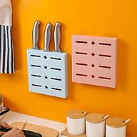 Kệ treo tường đựng dao 20x19.2x3cm - màu ngẫu nhiên ( TẶNG MÓC KHÓA GỖ) thumbnail