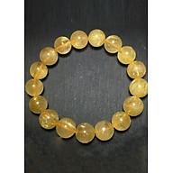 Vòng Nam Đá Thạch Anh Tóc Vàng Tự Nhiên 11mm thumbnail