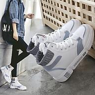 Giày thể thao nữ Hàn Quốc, cổ cao tôn dáng, nhiều màu thumbnail