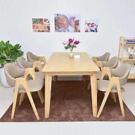 Bộ bàn ăn Chữ A 6 ghế thumbnail