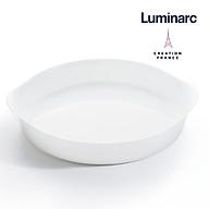 Khay Nướng Tròn Thuỷ Tinh Luminarc Smart Cuisine 28cm - LUKHN3165 thumbnail