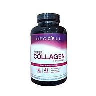 Viên uống NEOCELL Đẹp Da Khỏe Khớp Super Collagen +C, giảm nếp nhăn, cải thiện làn da, giúp móng tóc chắc khỏe, ngừa loãng xương thumbnail