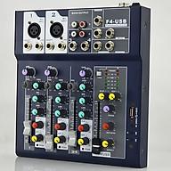 Mixer F4 USB Hát Karaoke Thu âm thumbnail