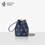 Túi đeo chéo Find Kapoor Mini Pingo Pattern FB19PTCH2NV - màu navy thumbnail