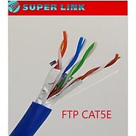 cáp mạng Superlink Cat 5e FTP CCA cuộn 305m - hàng chính hãng thumbnail