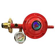 Combo phụ kiện bếp gas Van điều áp Mario đồng hồ, Chữ T, đai thumbnail