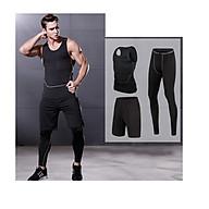 Bộ quần áo 3 đồ combat thể thao nam bóng rổ thể hình thumbnail