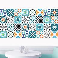Decal gạch bông dán bếp, dán tường, trang trí làm đẹp tân trang nhà cửa đời sống, nội thất văn phòng, quầy quán bar - mã HV31 thumbnail