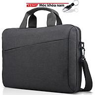 Cặp chống sốc laptop cao cấp kiểu Novo 15 - 15,6 inch thời trang Tặng móc khóa nam siêu bền C34 thumbnail