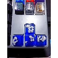 Keycap hiệu ứng mây trắng biển xanh trang trí bàn phím cơ. thumbnail
