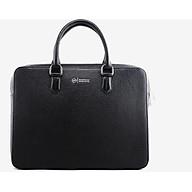 Cặp Da Nam Da Bò Cao Cấp Màu Đen WT Leather 0981.2 thumbnail