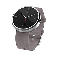 Motorola 1.56-Inch Moto 360 Smartwatch 23mm for Android and iphone - Light Metal (Discontinued by Manufacturer) thumbnail
