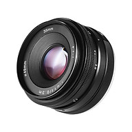 35mm f 1.7 Manual Focus Mirrorless Lens Prime Lens Large Aperture for Portrait Humanistic Street Photography for Sony E thumbnail