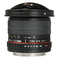 Ống Kính Samyang Fisheye 8mm F 3.5 For Canon - Hàng Chính Hãng thumbnail