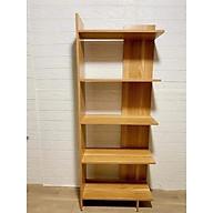 Kệ Sách 5 tầng bằng gỗ đa năng, Kệ gỗ trang trí nhà cửa, kệ sách gỗ để đồ đa năng thiết kế hiện đại thumbnail