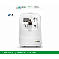 Thiết Bị Y Tế Tạo Oxygen Concentrator 5L Máy tạo Oxy Konsung hỗ trợ điều trị cho bệnh nhân mắc các bệnh về đường hô hấp như ho, hen suyễn, viêm phế quản, phổi, viêm phổi, phổi tắc nghẽn mãn tính... thumbnail