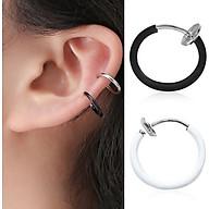 Khuyên kẹp tai, mũi, môi không cần xỏ lỗ không gỉ KTX999 thumbnail