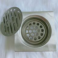 Phễu Thoát Sàn Inox 304 - Lọc Rác Inox SUS 304 HT49LRM915 thumbnail