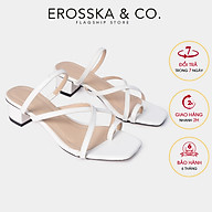Dép cao gót thời trang Erosska xo ngo n phô i dây phong ca ch Ha n Quô c cao 3cm EM066 thumbnail