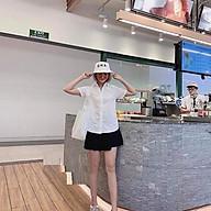 Áo sơ mi trắng kiểu tay ngắn mềm mại nữ công sở L203, kiểu áo sơ mi nữ đẹp, nhẹ nhàng thoải mái cho các bạn nữ thumbnail