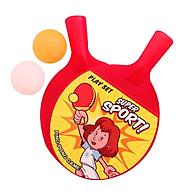 Đồ chơi vợt bóng bàn phiên bản mini dành cho bé - 1 Bộ 2 vợt 2 bóng - Giao màu ngẫu nhiên thumbnail