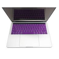 Miếng lót bàn phím in chữ Silicon skin keyboard Macbook Air Pro Retina có thể rửa - Hàng Chính Hãng thumbnail