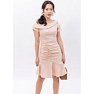 Váy đầm chữ a thời trang Eden dáng đuôi cá, lệch vai nữ tính. Chất liệu vải mềm mại, không nhăn. Có nhiều size dễ chọn lựa - D394 thumbnail