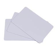 [ Set 100 thẻ] Phôi thẻ nhựa PVC trắng - Hàng nhập khẩu thumbnail
