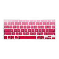 Tấm phủ bàn phím cho Macbook bằng silicon chống nước tuyệt đối màu Gradient Red thumbnail