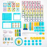 Bộ dụng cụ học toán cho bé Deli - Cùng bé tới trường - 74330 74331 thumbnail