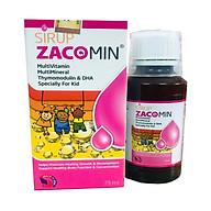 Thực phẩm bảo vệ sức khỏe Sirup Zacomin 75ml thumbnail